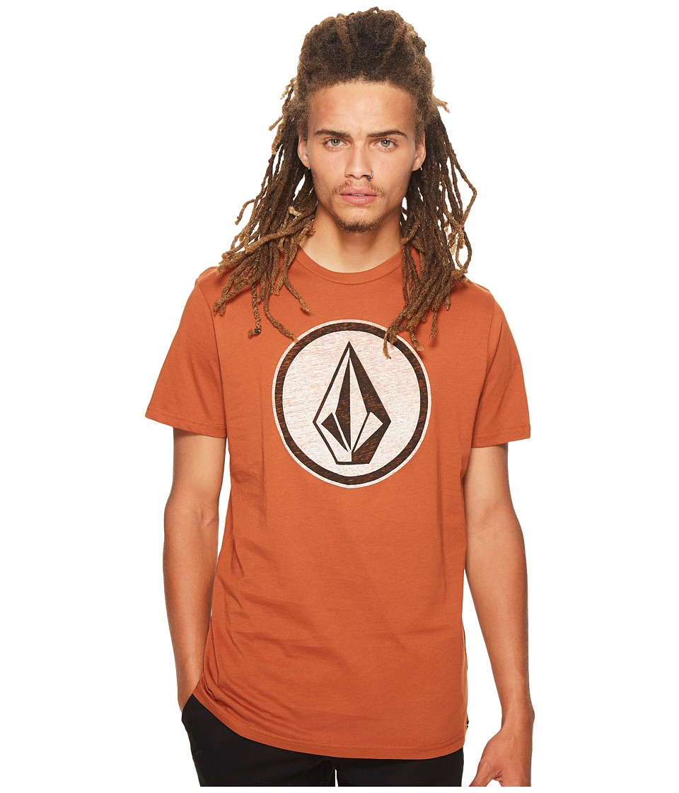 Volcom - Classic Stone Tee (Copper) Men's T Shirt
