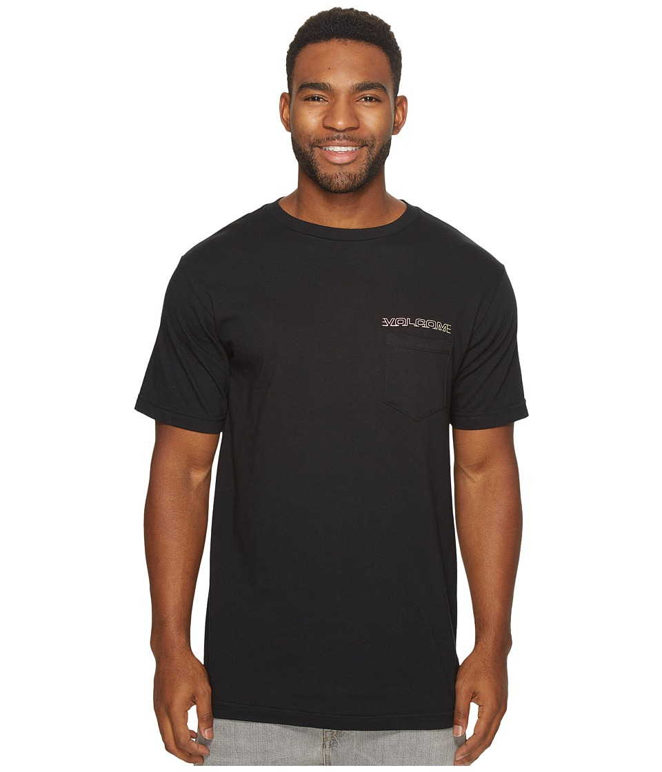 Volcom - Sound Maze Pocket Tee (Black) Men's T Shirt