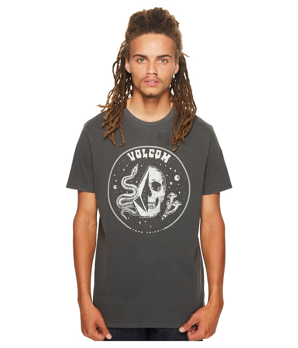 Volcom - Stone Trippin Tee (Black) Men's T Shirt