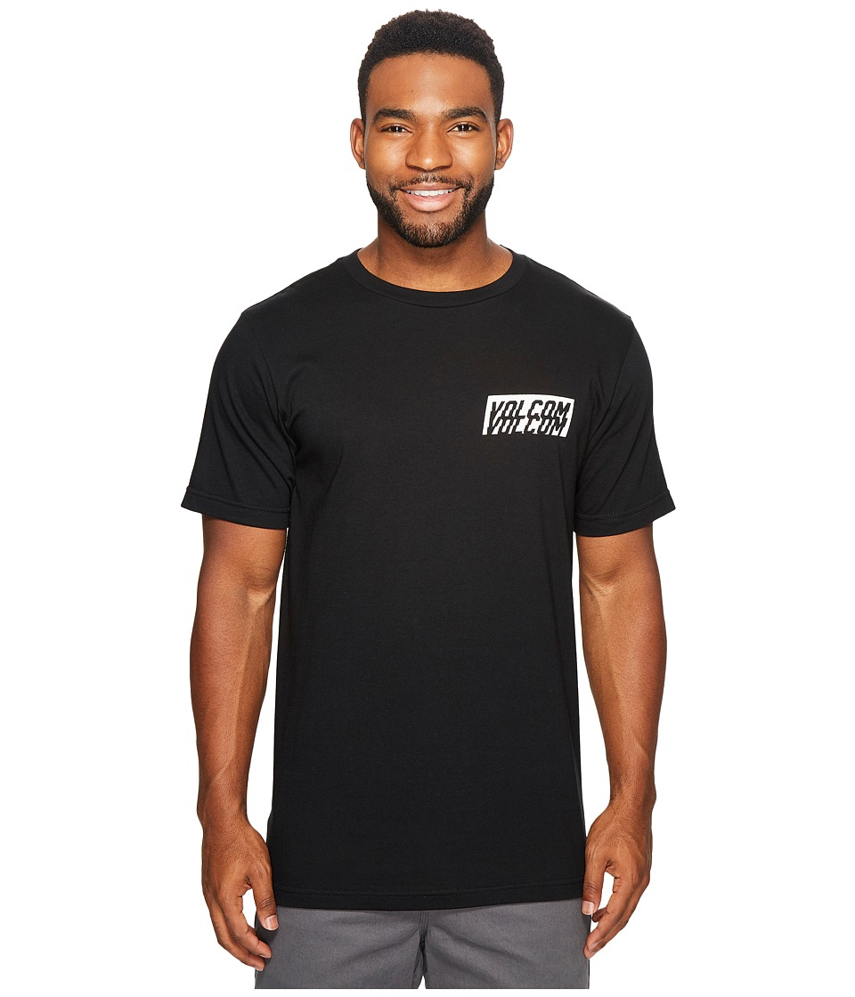 Volcom - Chopper Short Sleeve Tee (Black) Men's T Shirt