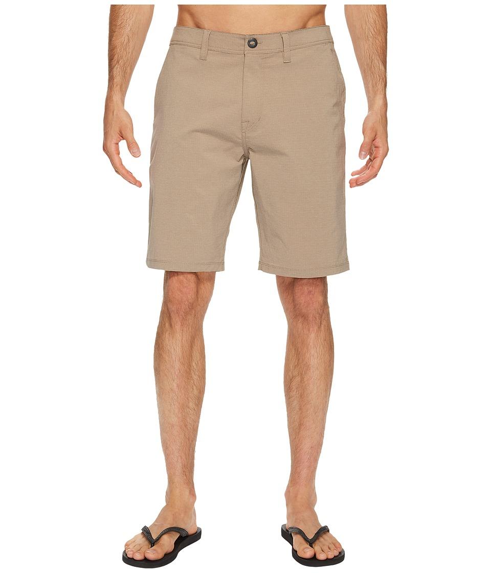 Volcom - Surf N' Turf Frickin Dry Hybrid Short (Beige) Men's Shorts