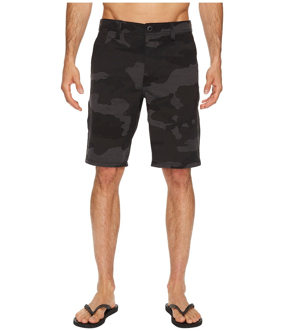Volcom - SNT Frickin Mix 21 Shorts (Black) Men's Shorts
