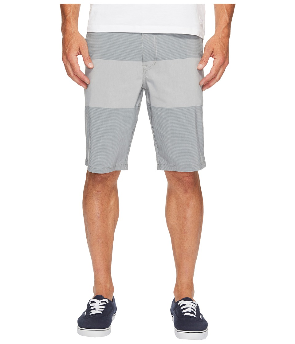 Volcom - SNT Frickin Mix 21 Shorts (Pewter) Men's Shorts