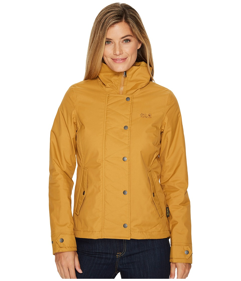 Jack Wolfskin Dorset Jacket (Golden Amber) Women