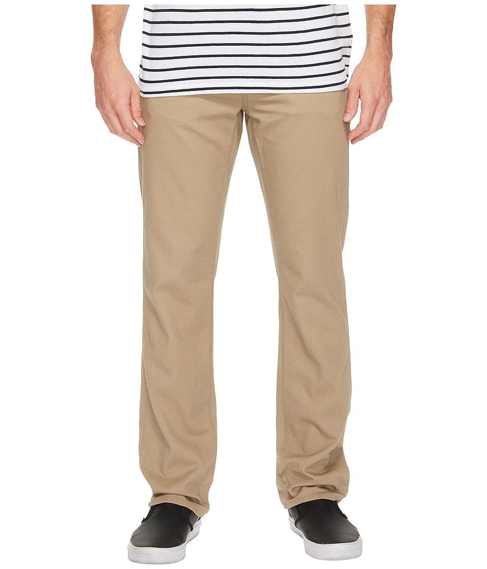 Volcom - VSM Gritter Modern Chino (Khaki) Men's Casual Pants