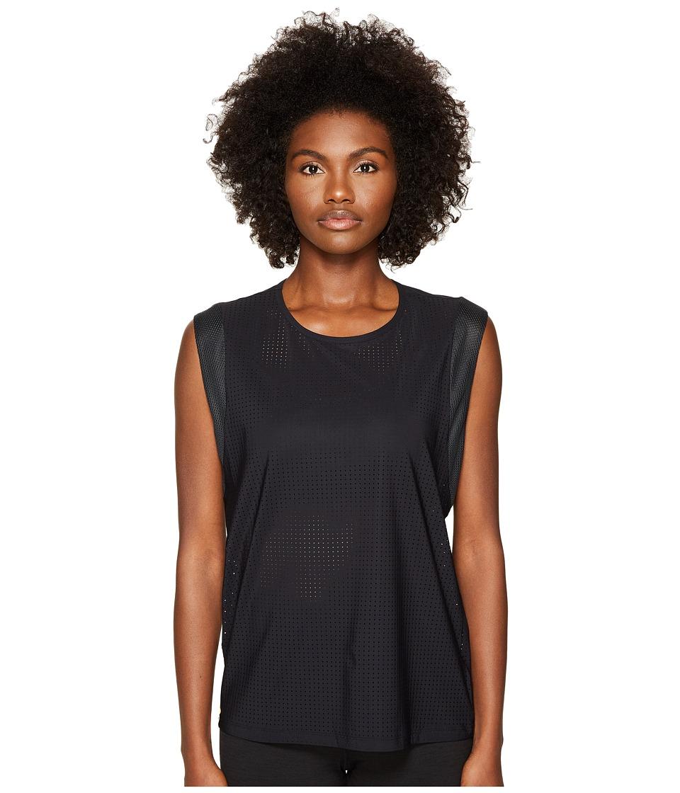 Monreal London - Workout Top (Black) Women's Clothing