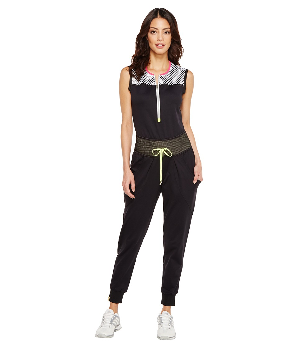 Monreal London - Boyfriend Jumpsuit (Black) Women's Jumpsuit & Rompers One Piece