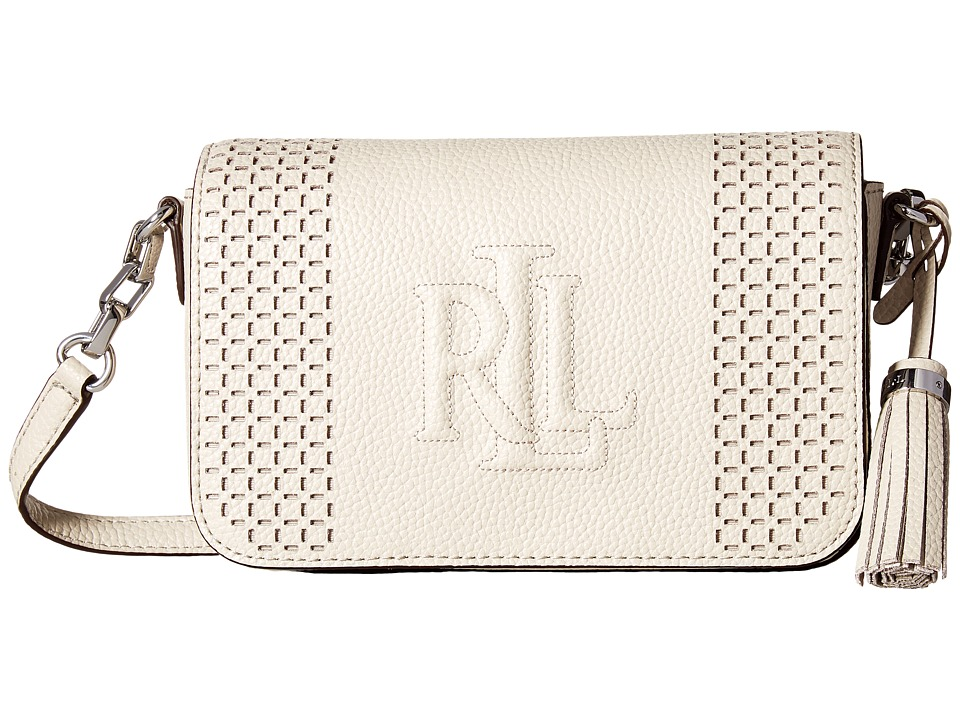 LAUREN Ralph Lauren - Anstey Carmen Crossbody (Beige) Cross Body Handbags