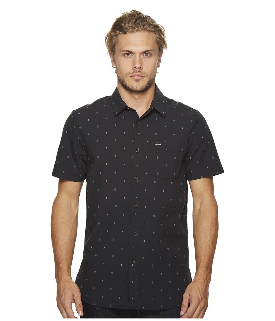 Volcom - Interlude Shirt (Black) Men's Clothing