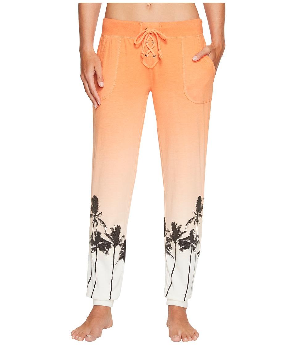 P.J. Salvage - Meet Me At Sunset Jogger (Orange) Women's Pajama