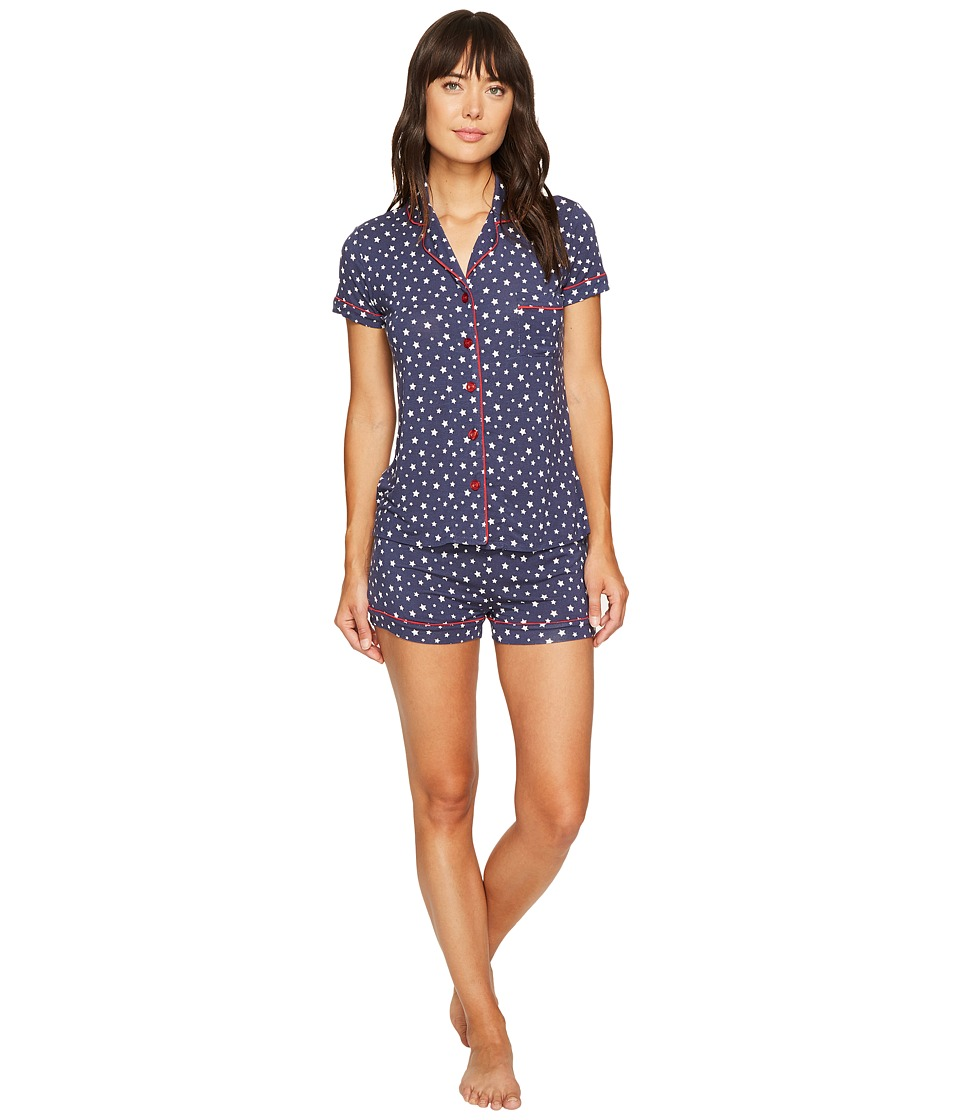 P.J. Salvage - All-American Star PJ Set (Navy) Women's Pajama Sets