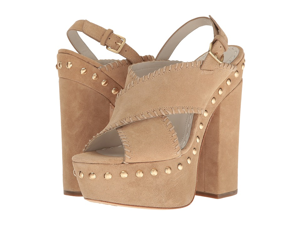 Alice + Olivia - Giana (Tan Oily Suede) Women's Shoes