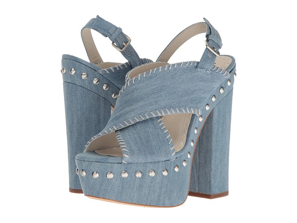 Alice + Olivia - Giana (Blue Denim) Women's Shoes