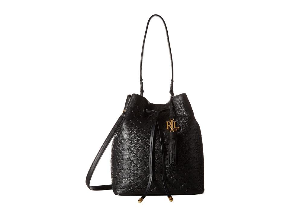 LAUREN Ralph Lauren - Westbourne Debby Drawstring (Black) Drawstring Handbags