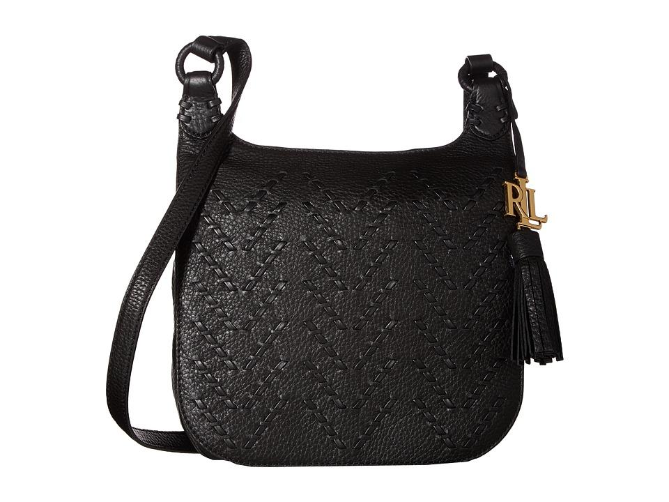 LAUREN Ralph Lauren - Westbourne Georgia Crossbody (Black) Cross Body Handbags