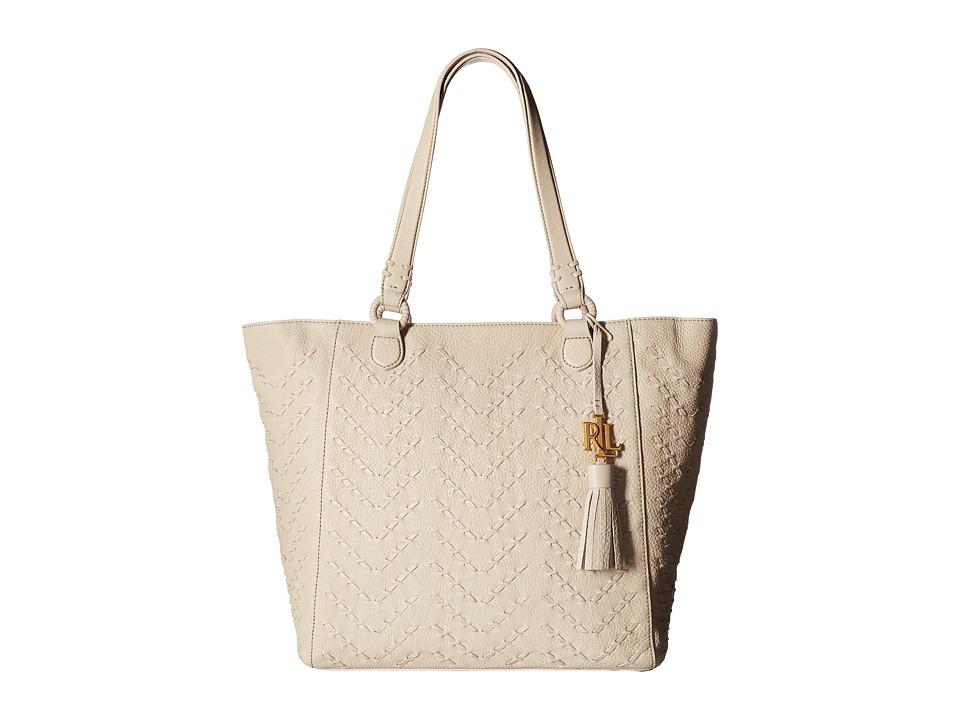 LAUREN Ralph Lauren - Westbourne Yara Tote (Beige) Tote Handbags