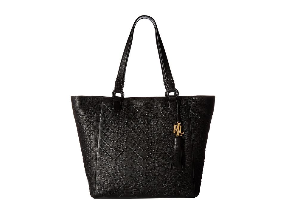 LAUREN Ralph Lauren - Westbourne Yara Tote (Black) Tote Handbags