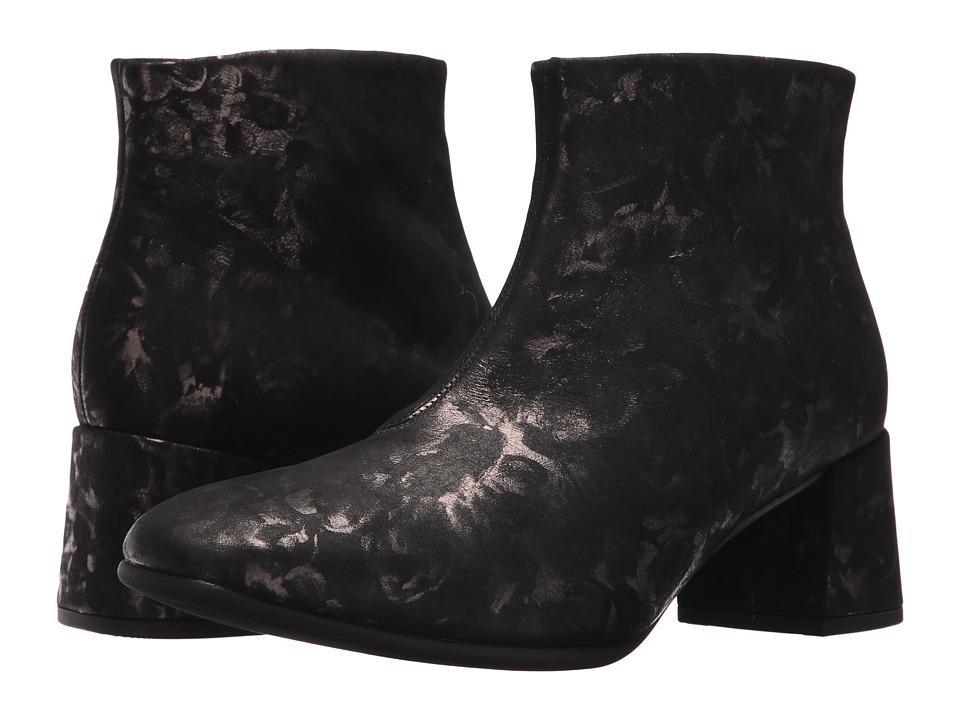 Gabor Gabor 75.860 (Black Floral Metallic) Women