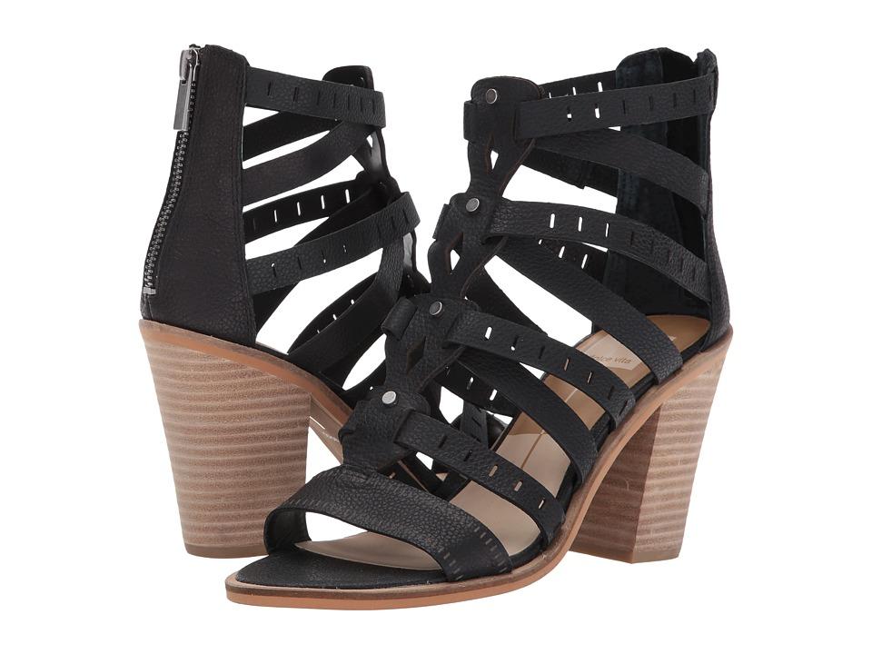 Dolce Vita - Laikin (Black Leather) Women's Shoes
