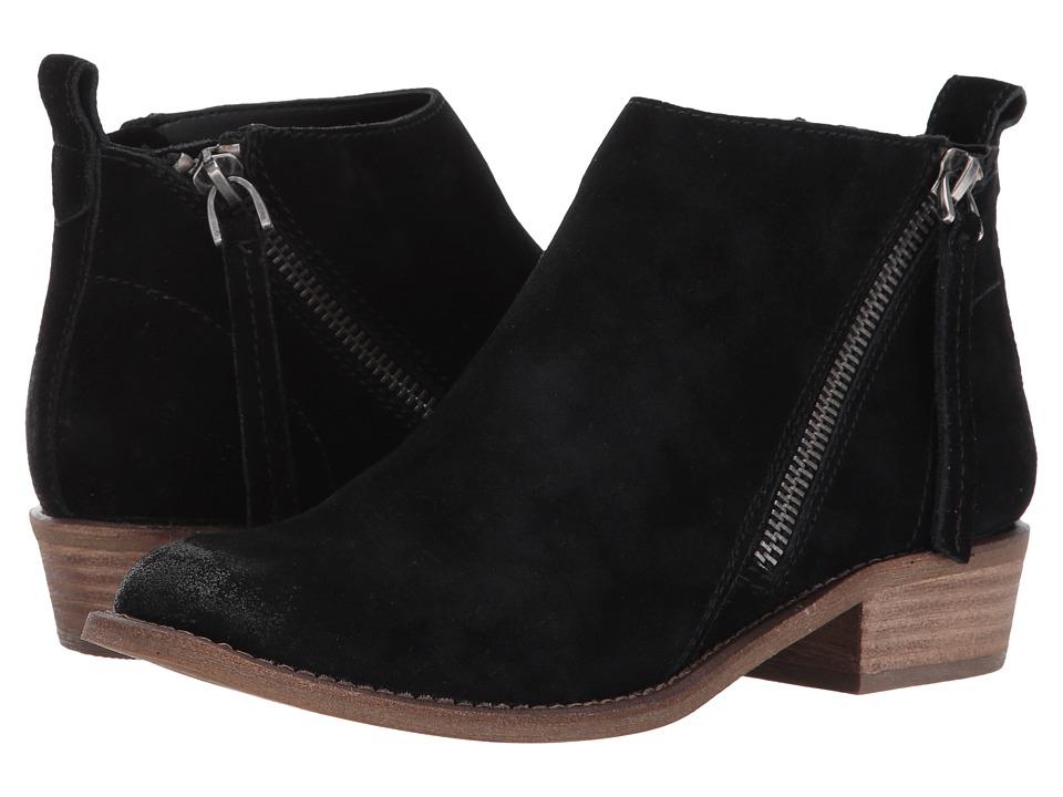Dolce Vita - Sibil (Black Suede) Women's Shoes