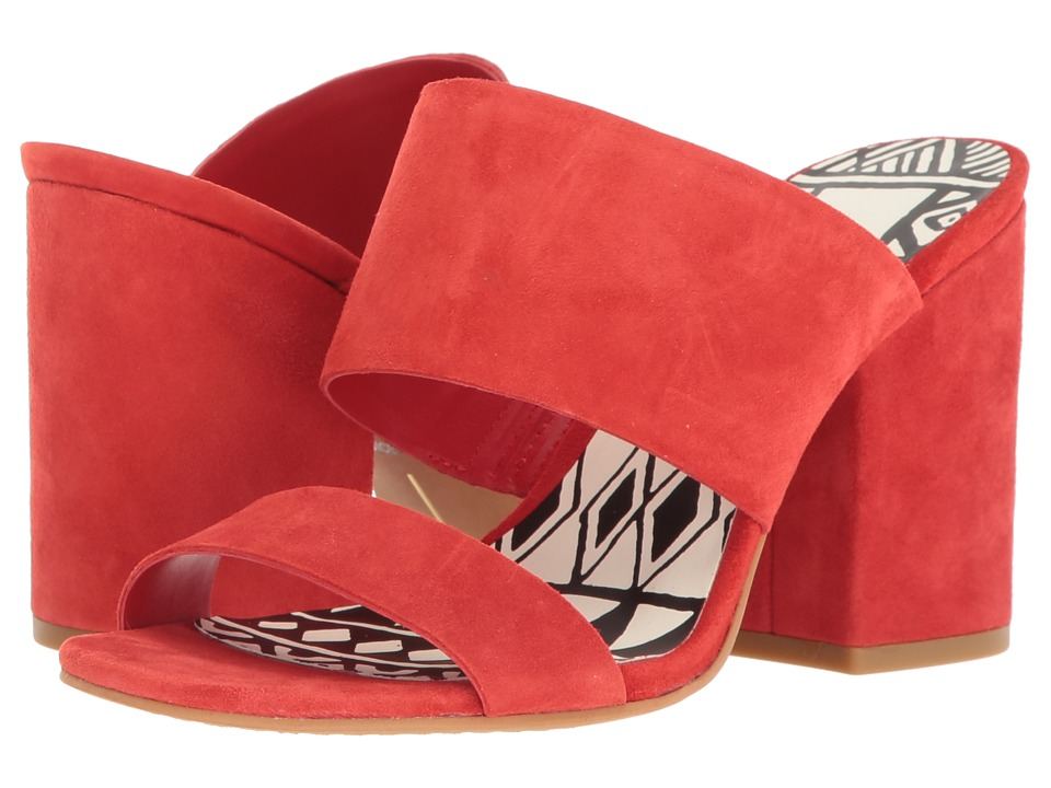 Dolce Vita - Elize (Red Suede) Women's Shoes
