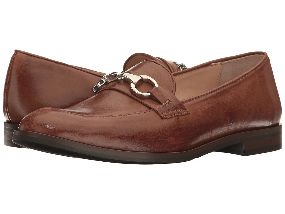 Massimo Matteo - Moc Toe with Bit (Brown) Women's Slip-on Dress Shoes
