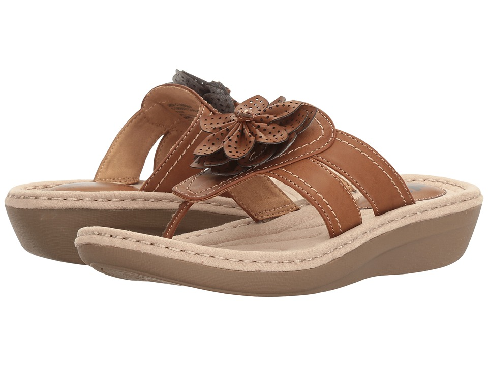 White Mountain - Carlina (Honey) Women's Shoes