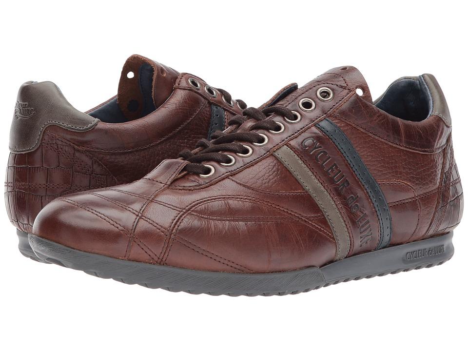 Cycleur de Luxe - Crush City (Dark Cognac/Military Green/Navy) Men's Shoes