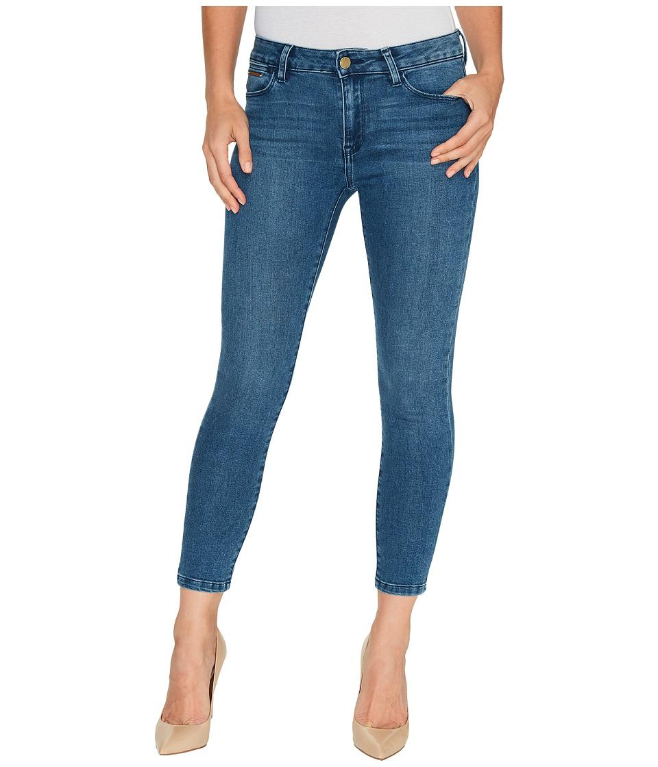 Ivanka Trump - Denim Rolled Crop Jeans in Vintage Blue (Vintage Blue) Women's Jeans