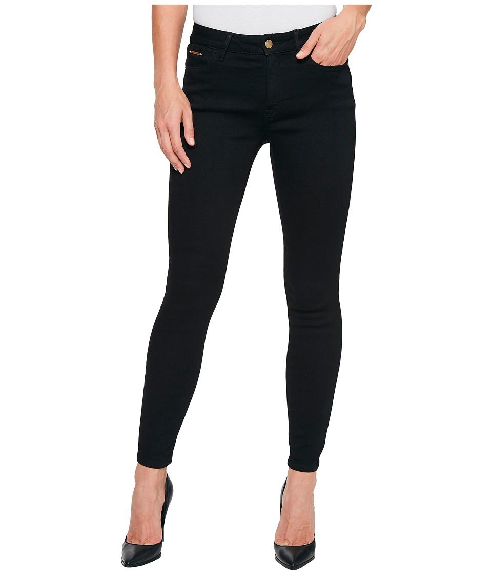 Ivanka Trump - Denim Skinny Ankle Jeans in Black (Black) Women's Jeans