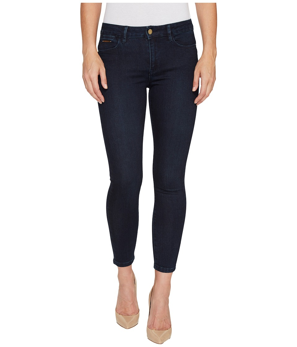 Ivanka Trump - Denim Skinny Ankle Jeans in Dark Blue (Dark Blue) Women's Jeans