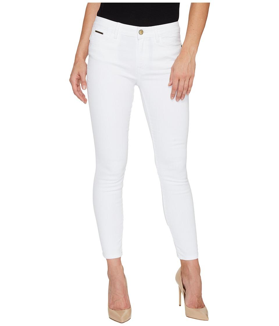 Ivanka Trump - Denim Skinny Ankle Jeans in White (White) Women's Jeans