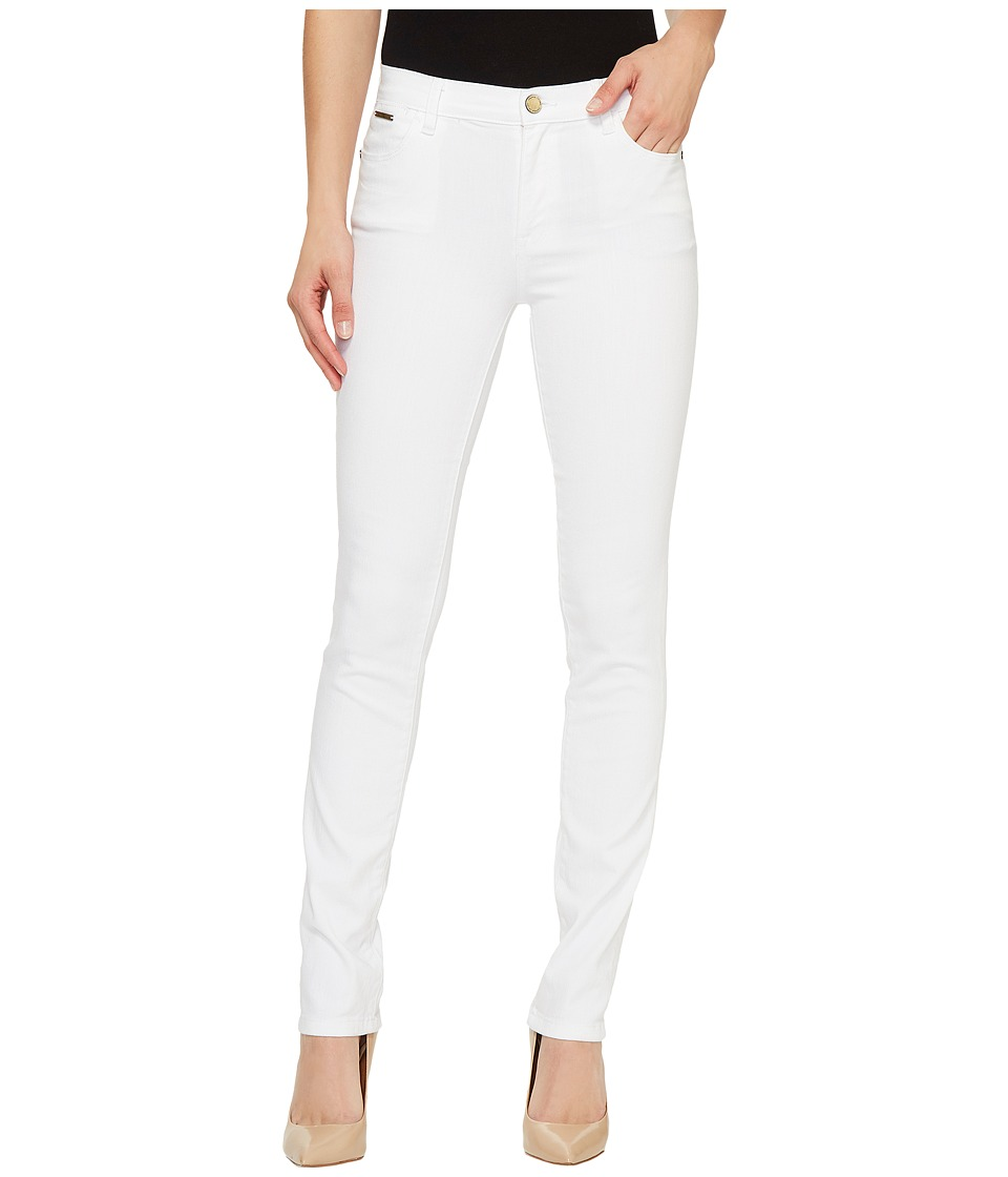 Ivanka Trump - Denim Skinny Jeans in White (White) Women's Jeans
