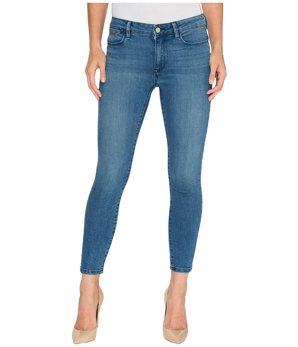 Ivanka Trump - Denim Skinny Ankle Jeans in Vintage Blue (Vintage Blue) Women's Jeans