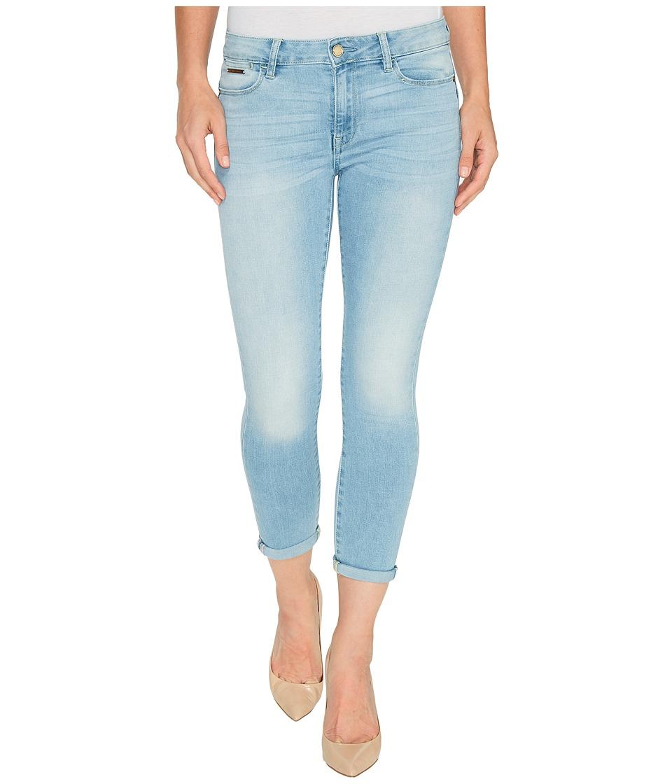 Ivanka Trump - Denim Rolled Crop Jeans in Antique Bleach (Antique Bleach) Women's Jeans