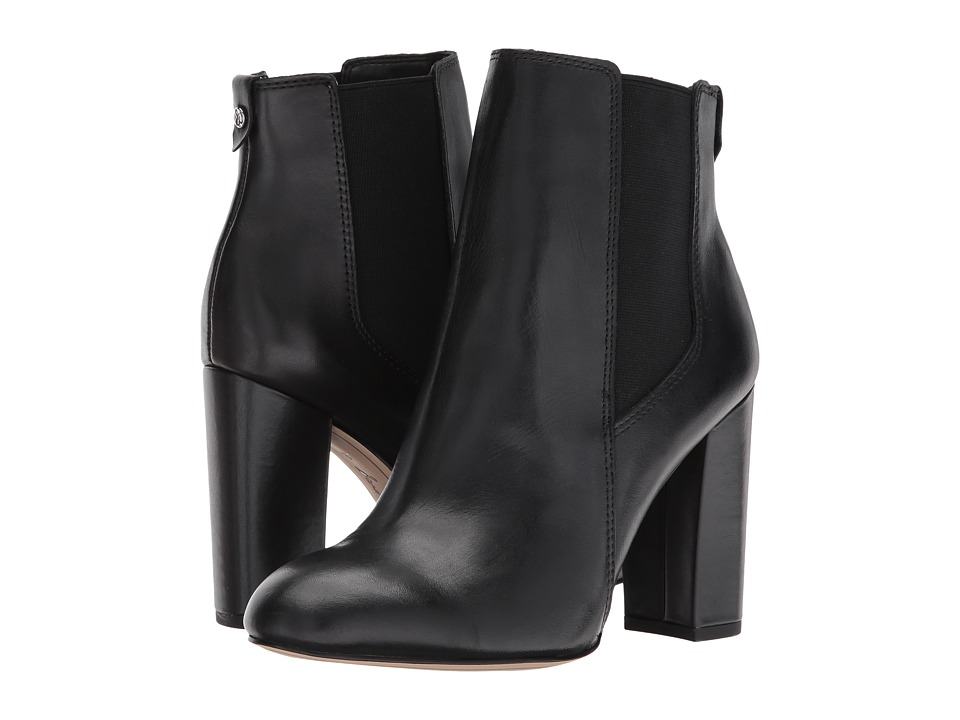 Sam Edelman Case (Black Modena Calf Leather) Women