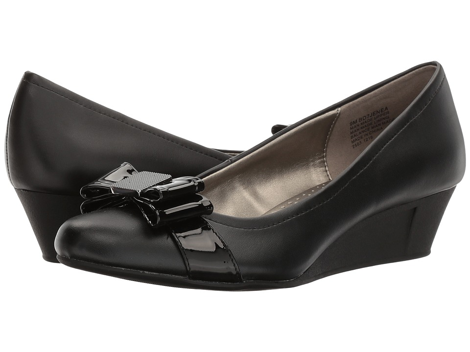Bandolino - Jenea (Black Synthetic) Women's Shoes
