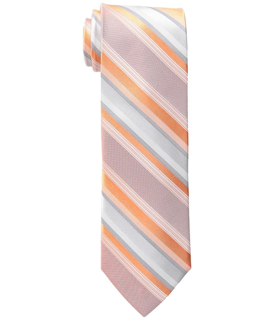 Calvin Klein - Carnivale Stripe (Melon) Ties