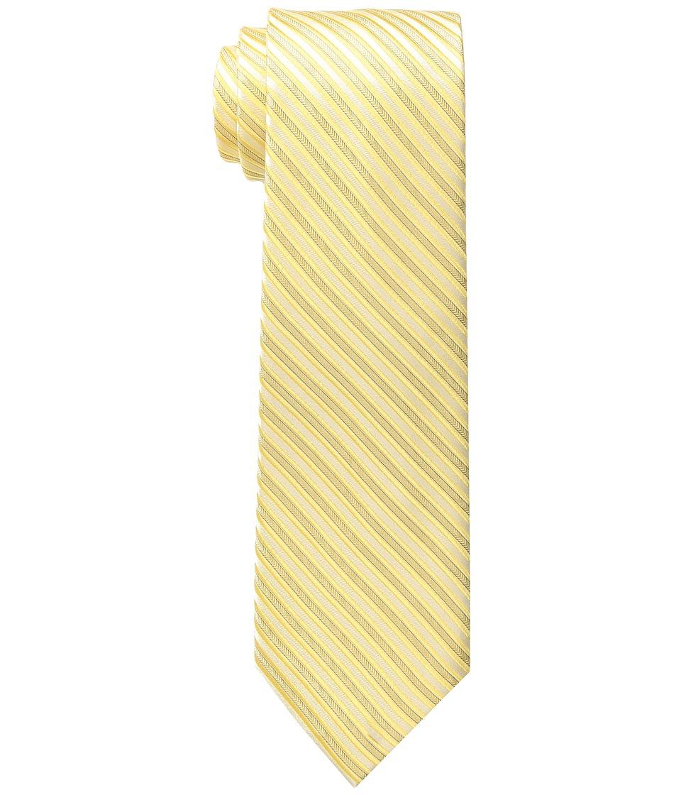 MICHAEL Michael Kors - Ribbed Stripe (Yellow) Ties