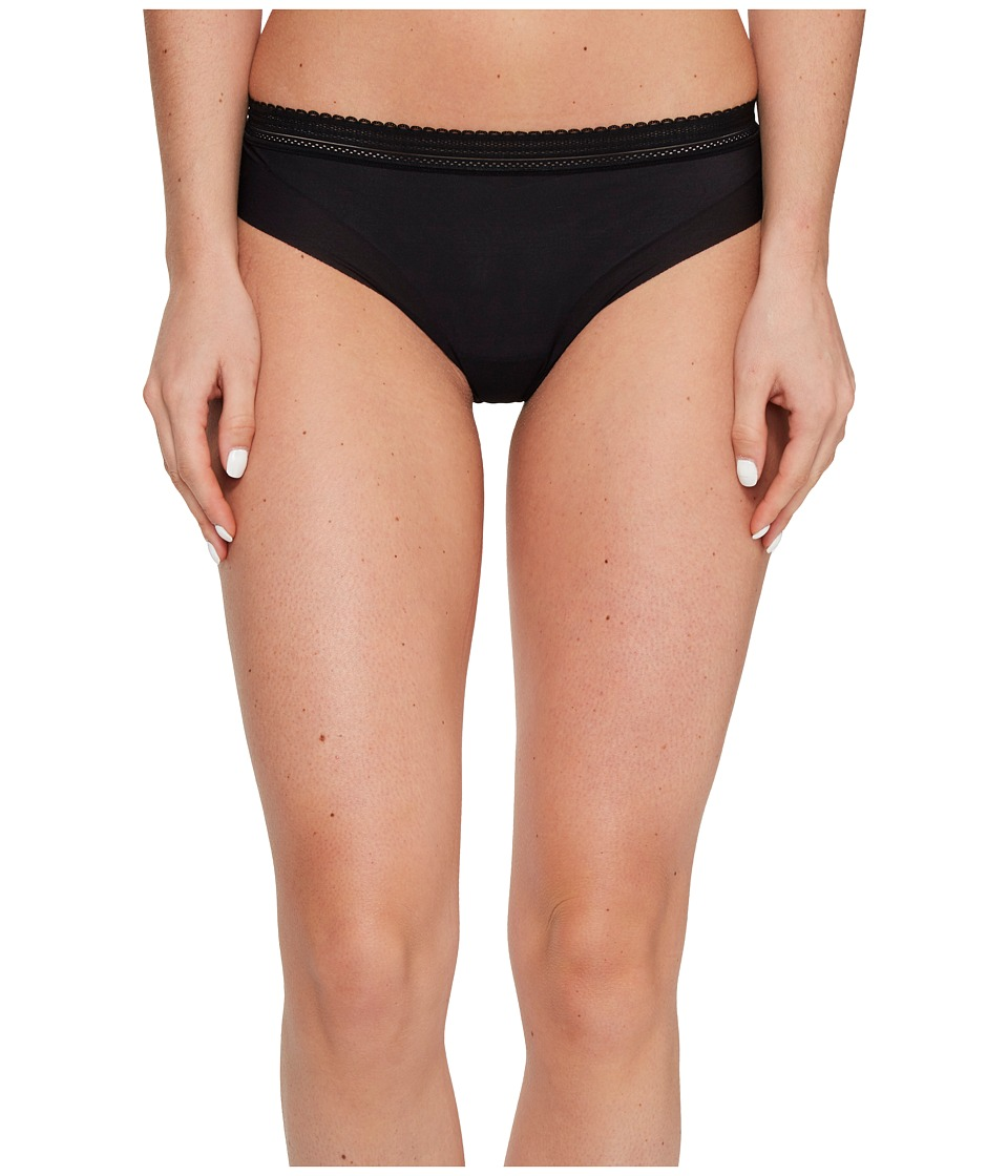Cosabella - Laced In Aire Lowrider Thong (Black) Women's Underwear