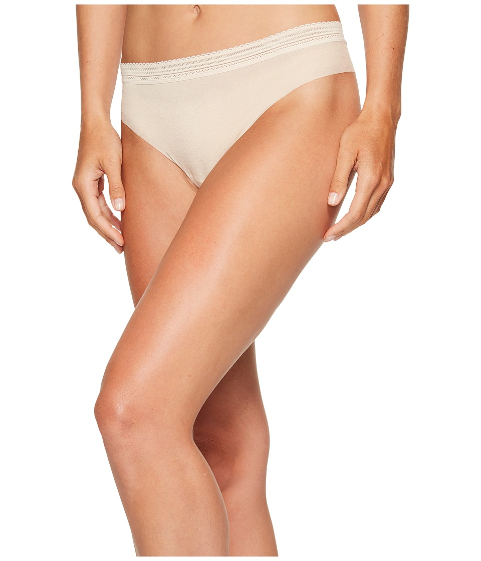 Cosabella - Laced In Aire Lowrider Thong (Nude Rose) Women's Underwear