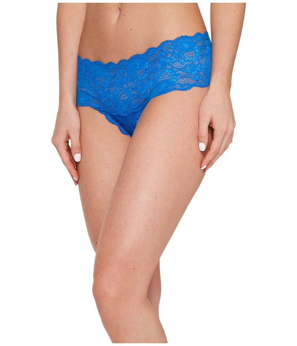 Cosabella - Never Say Never Hottie Lowrider Hotpants (Blue Lagoon) Women's Underwear