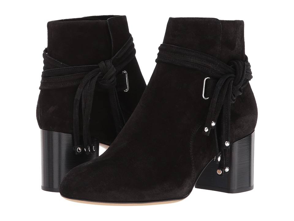 rag & bone Dalia II Boot (Black Suede) Women