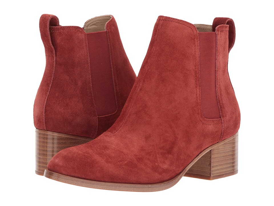 rag & bone Walker Boot (Rust Suede) Women