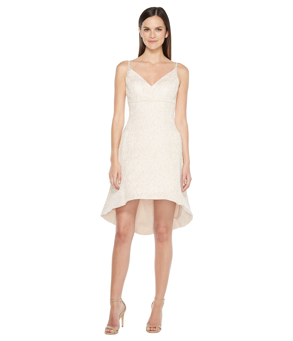 Aidan Mattox Jacquard Fit and Flare Dress