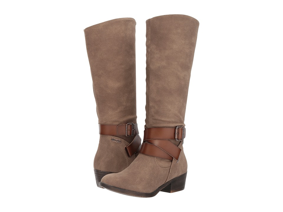 Blowfish Sharpshooter (Taupe Saddle Rock/Tan Dyecut) Women