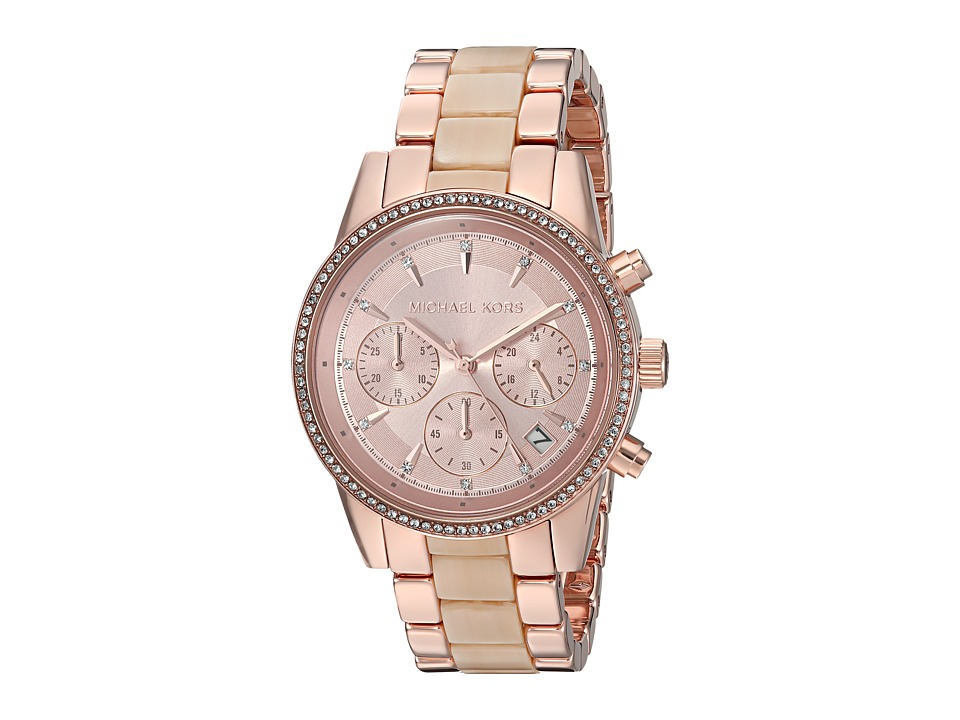 Michael Kors - MK6493 - Ritz (Rose Gold) Watches