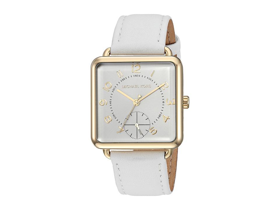 Michael Kors - MK2677 - Brenner (White) Watches