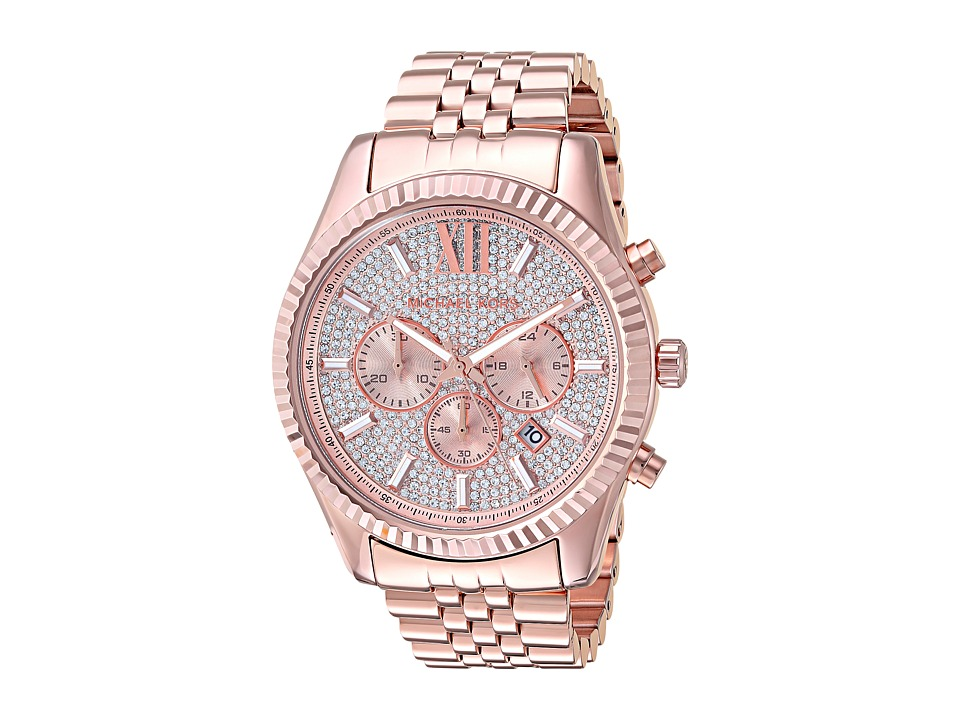 Michael Kors - MK8580 - Lexington (Rose Gold) Watches