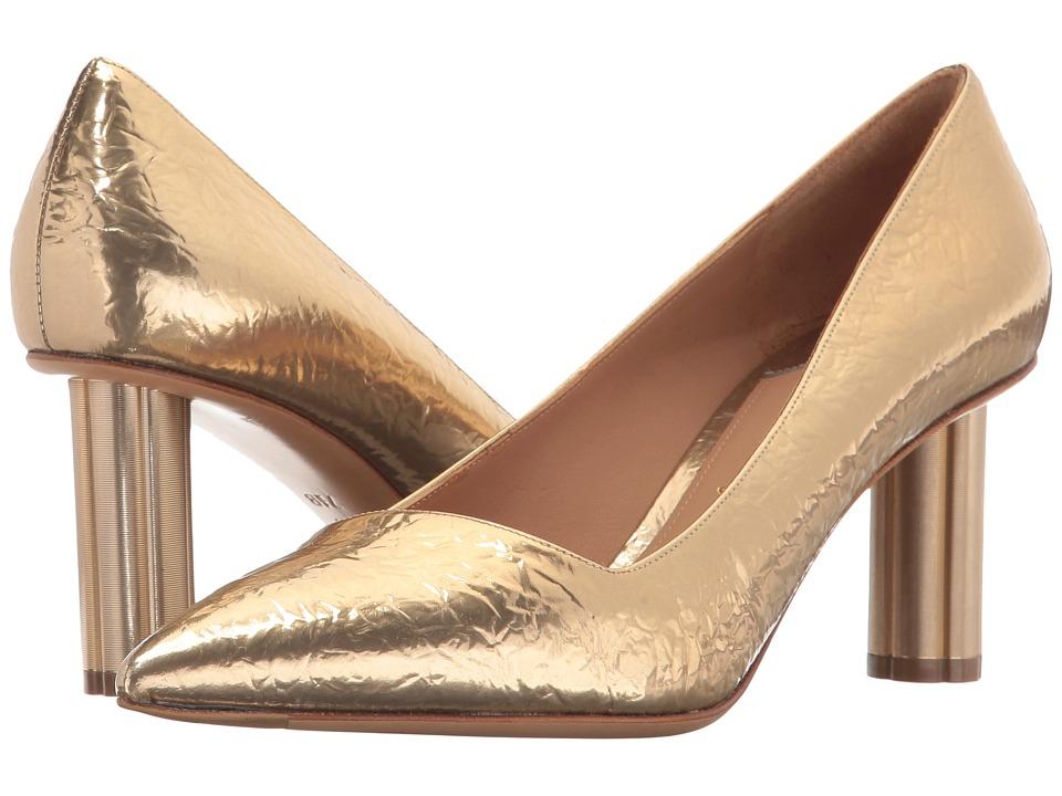 Salvatore Ferragamo Bari 70 (Gold/Giove) High Heels